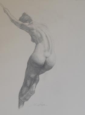 Γυμνό με γραφίτη