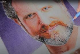 Color Pencils Portrait